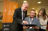 Alex Neil Launches Living it Up in Stirling: Health Secretary Alex Neil in Stirling for the launch of