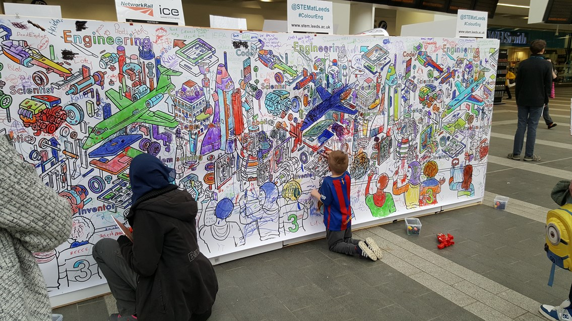 Step into STEM: London King's Cross to hold day of educational activities for children: STEM Learning