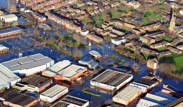 Cllr Judith Blake, Leader of Leeds City Council, responds to flooding report: cardiganfieldsarea.jpg