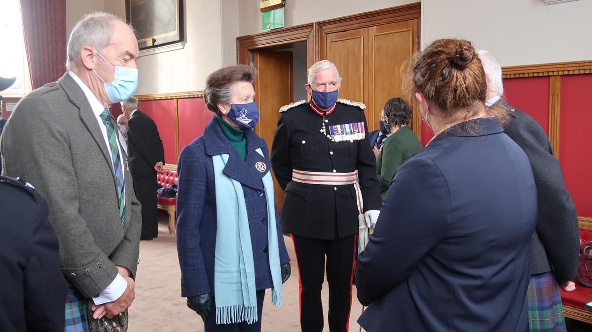 Her Royal Highness Tolbooth Visit - 13 October 2021-3