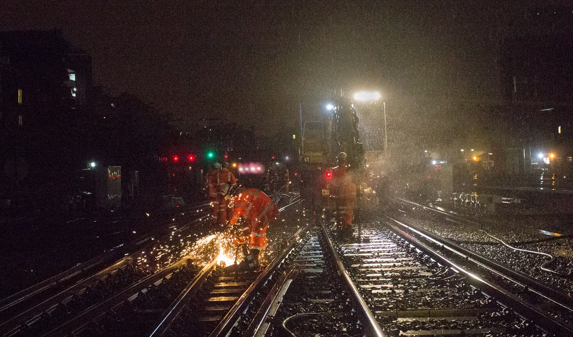 South London track and signalling upgrades fully underway along with improvement works at Gatwick Airport station during Early May Bank Holiday: London Victoria works