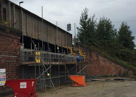 Drop-in session for strengthening work on East Ardsley bridge this week: falllanebridge.jpg