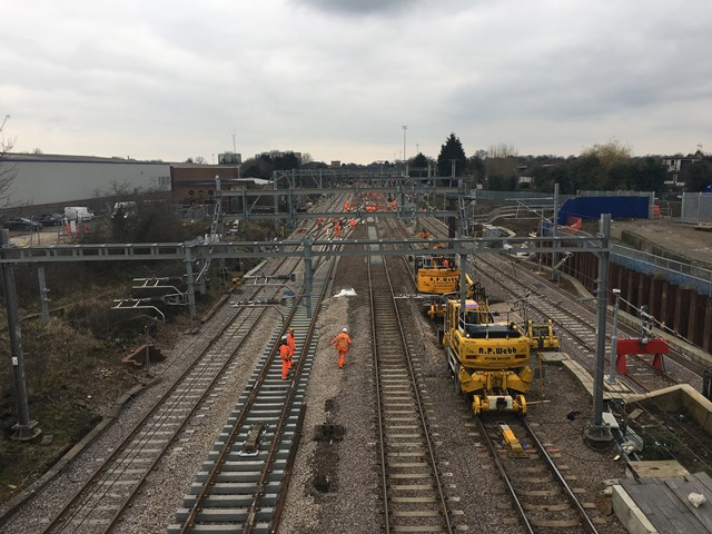 Major track upgrade for Norwich to London rail passengers begins this weekend: Track renewal GEML