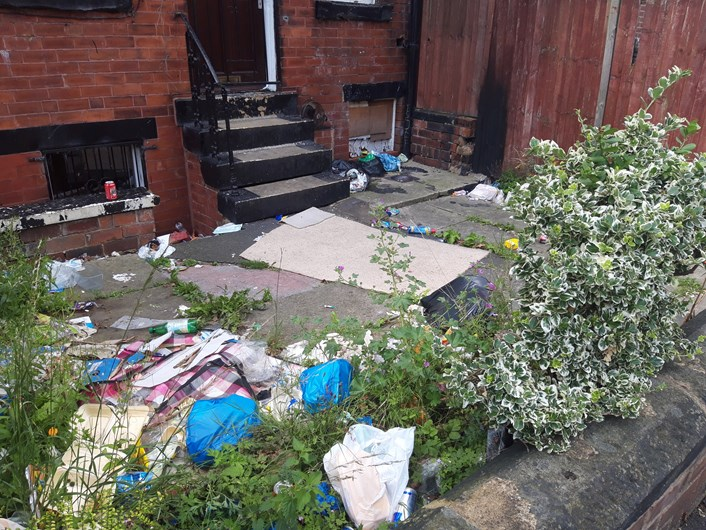 Leeds City Council continues purge on household waste: wasteingarden2