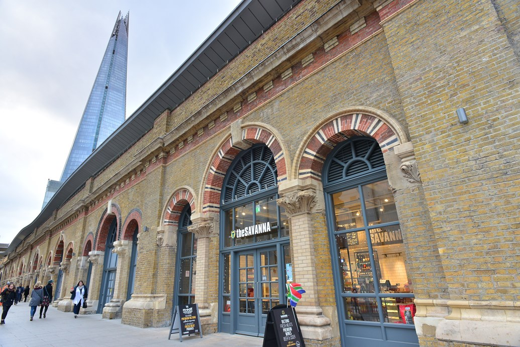 London stations' retail sales surge spurred by significant investment: London Bridge station 3