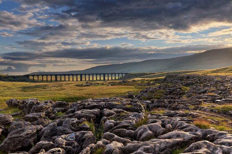 World class photography arrives at Network Rail stations: Landscape Photograph of the Year 'Lines in the landscape' Award winner 2016 - Francis Taylor