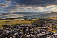 Landscape Photograph of the Year 'Lines in the landscape' Award winner 2016 - Francis Taylor: Ribblehead Viaduct
