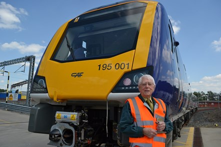 Veteran station master celebrates 70 years on the railway: Russell Parsons 1