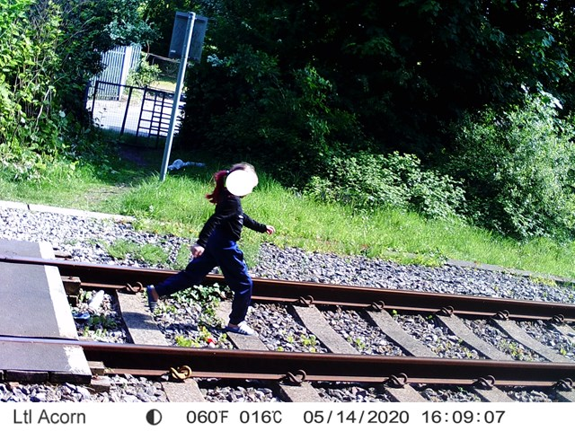 Shocking images show dangerous level crossing misuse in South Wales: Skewen misuse-2