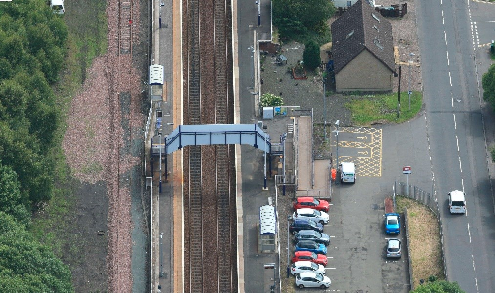 Cleland Station accessibility improvements in site: 16 Oct cleland aerial