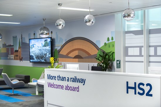 HS2 Snow Hill office welcome