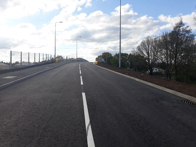 Mardy Road bridge in Cardiff reopens following reconstruction: Mardy Road bridge in Cardiff reopens following reconstruction