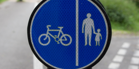 Cycle and pedestrian paths