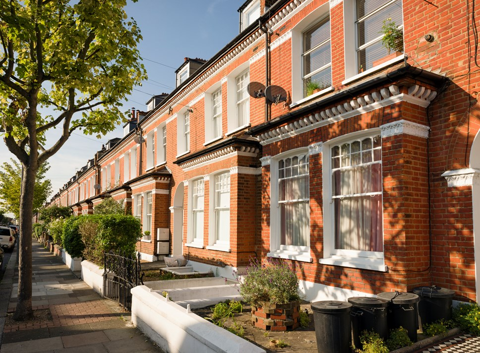 Five ways to ensure a successful home insurance claim: Row of houses