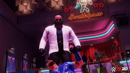 WWE2K20 Originals Southpaw Regional Wrestling Braun Strowman