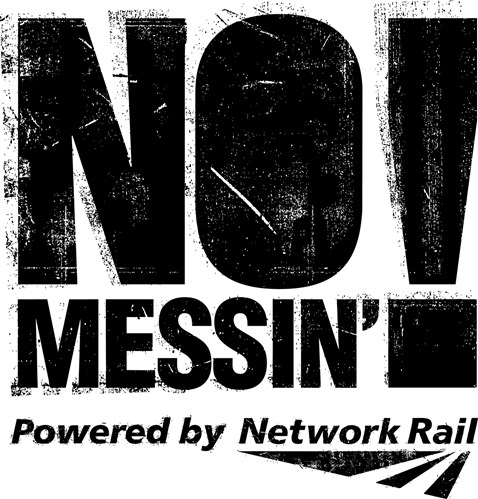 No Messin Logo Black