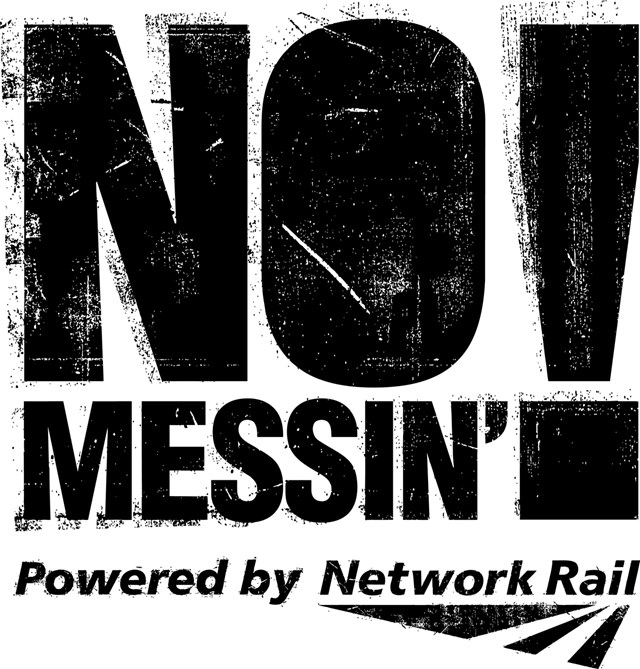 No Messin Logo Black: No Messin General Logo