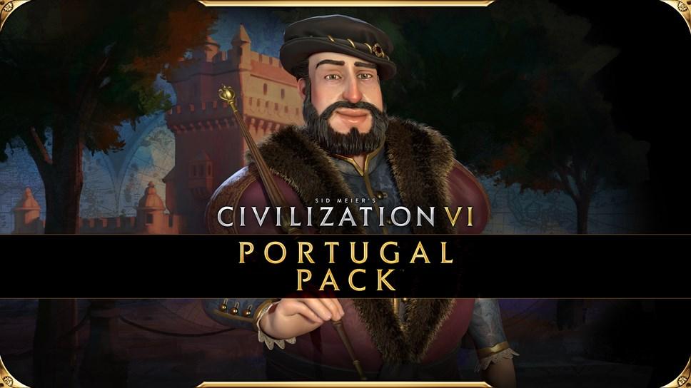 Civiliation VI - New Frontier Pass - Portugal Pack - Key Art