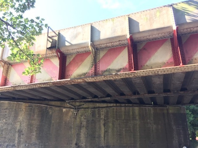 Cambridgeshire rail line reopens after bridge is hit by a lorry: Coldhams Lane repair 1