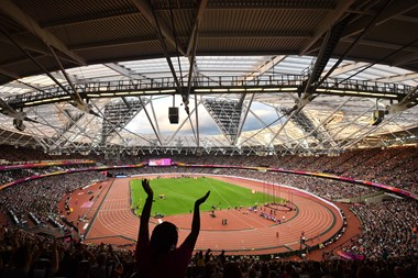 London welcomes back fans to UEFA EURO and Wimbledon Finals in huge boost for capital's major events industry: 3. IAAF World Championships London 2017 credit British Athletics Getty