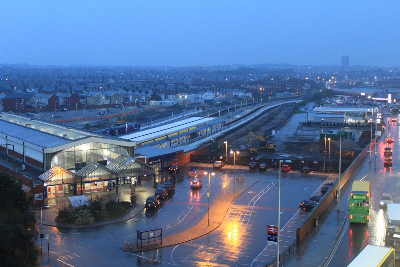 One week until Blackpool's railway revolution begins: Blackpool North station September 2017