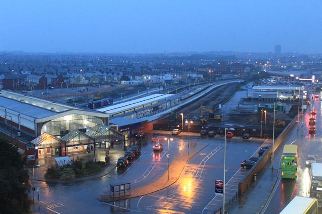 Blackpool North station September 2017