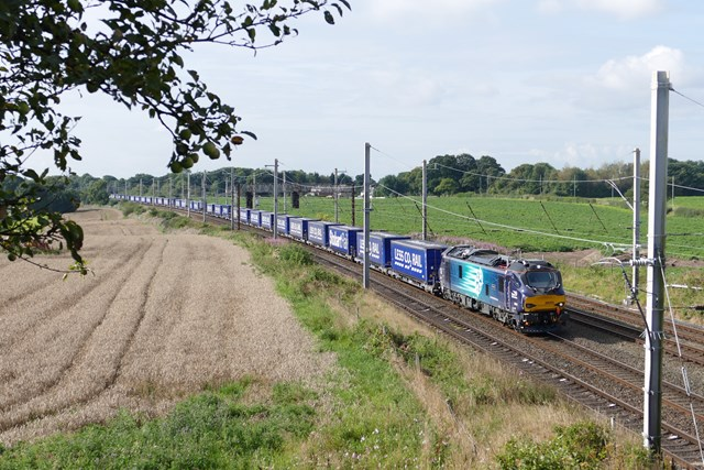 Key freight routes in focus on Scotland's Railway: Daventry - Mossend Euroterminal