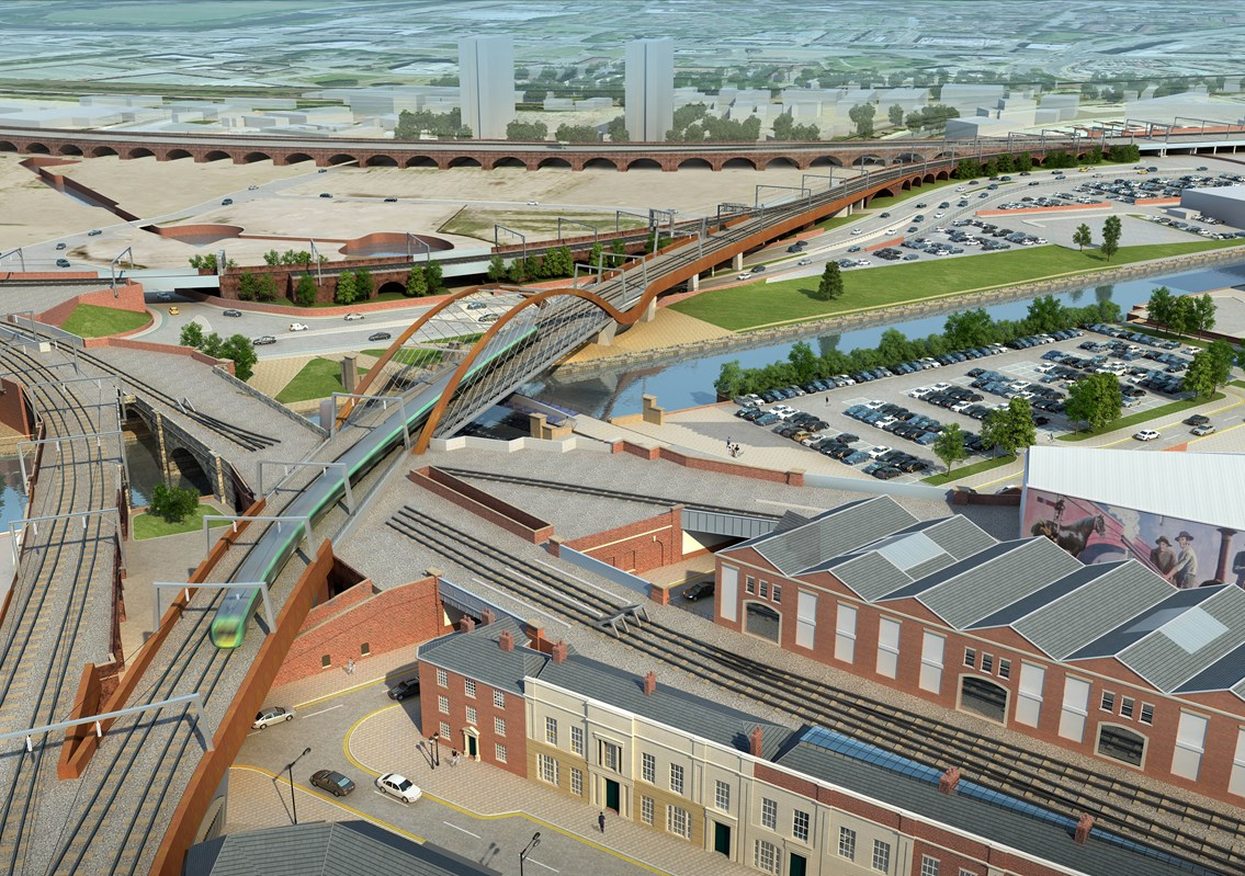 Ordsall Chord judgment good news for rail customers: Ordsall Chord - Manchester - 1