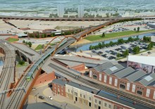 Passengers urged to check before they travel as railway upgrade in the north continues: Ordsall Chord - Manchester - 1
