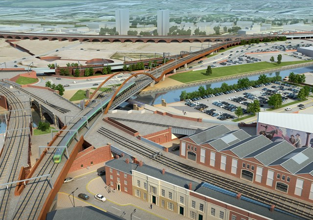 Manchester ring road speed restrictions to be introduced as vital Ordsall Chord work progresses: Ordsall Chord - Manchester - 1