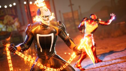 Marvel s Midnight Suns - Ghost Rider - Fire with Hellfire