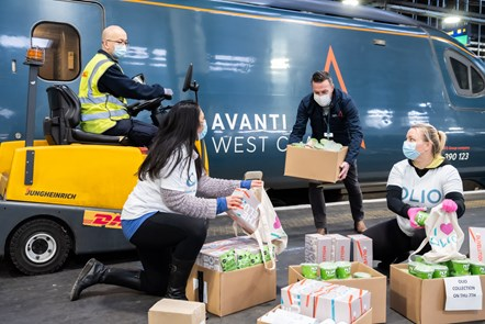 Avanti West Coast Food Donations 3