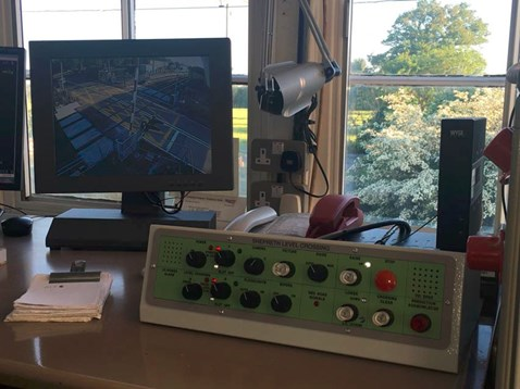 New CCTV system at Shepreth