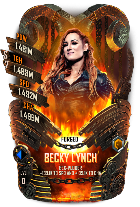 WWESC S7 Becky Lynch Forged