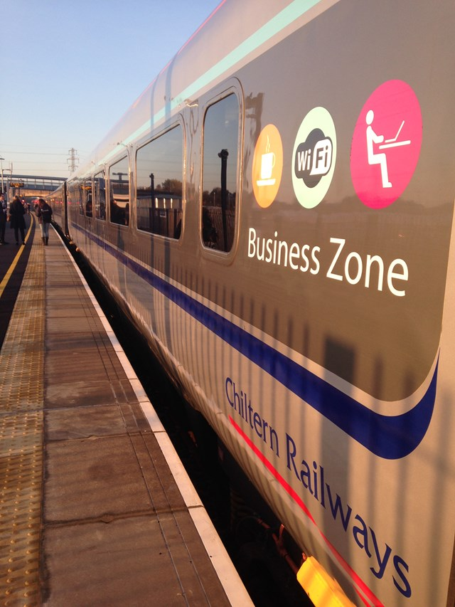 Chiltern Railways and Network Rail open new rail line connecting Oxford and London - 2