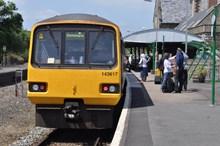 Tarka Line in North Devon: Trains on the Tarka Line in North Devon