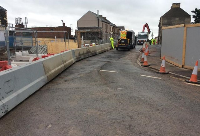 The bridge reopened ahead of schedule on the afternoon of Sunday 3 September