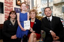 First Minister's Official Christmas card