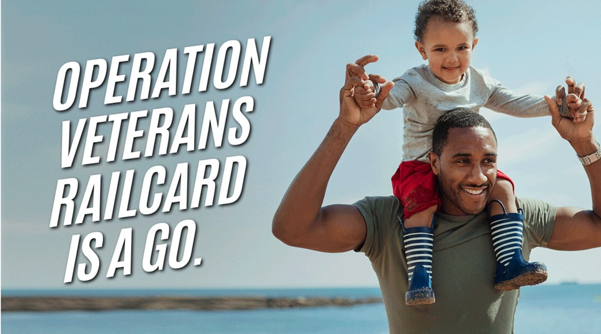Veterans Railcard image