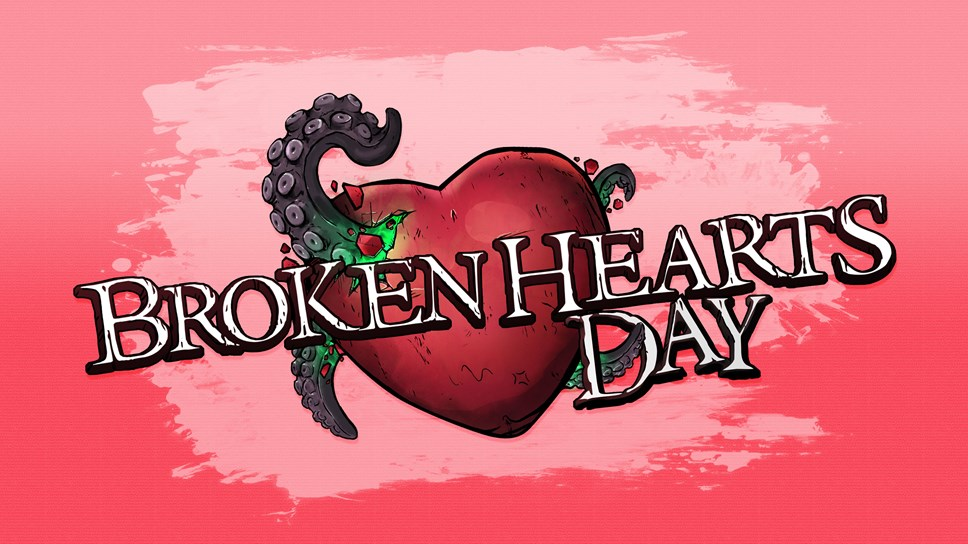 Borderlands® 3's February Patch and 'Broken Hearts Day' Free Seasonal Event Are Now Live: Broken Hearts Logo-2