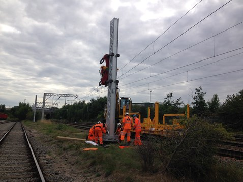 Chase line electrification - Walsall portrait