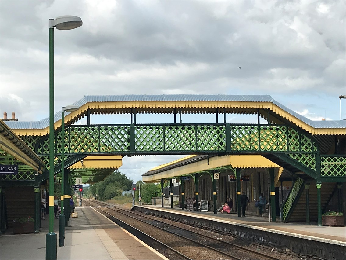 Celebrations as £1.1million improvement work at Worksop station receives national award 3