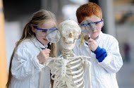 Glasgow Science Centre - Science Funding - List: This image is used courtesy of The Glasgow Science Centre who can be contacted on (0141) 420 5000 for permission to use their image.