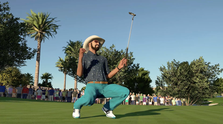 PGA TOUR 2K21 Announce 4