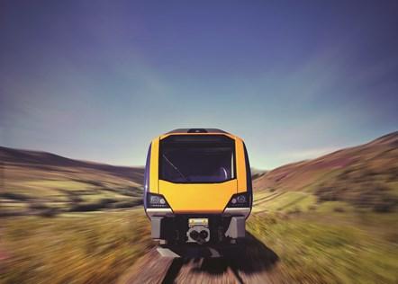 New trains reach two million journey milestone: New Trains - FRONT VIEW - Landscape
