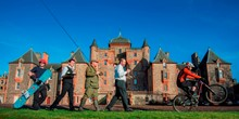 Launch of Scottish Borders and Midlothian tourism action plan at Thirles...