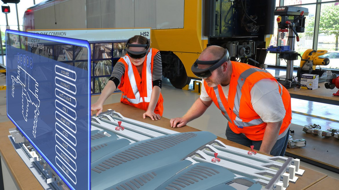 HS2 pioneers augmented reality for rail super hub of the future: 02 07 19-OOC--old-and-new-2