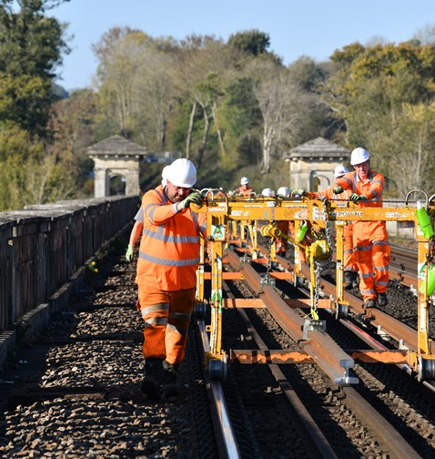 Brighton Mainline Upgrade Ouse Valley Oct 10  (55)