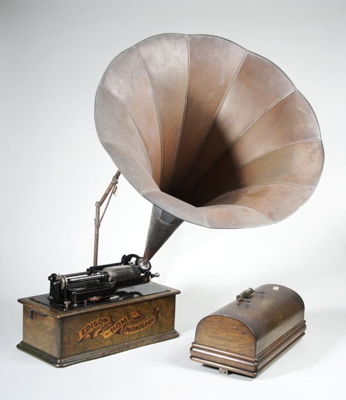 Sounds of Our City: Phonograph, made by Edison's National Phonograph Company, circa 1903