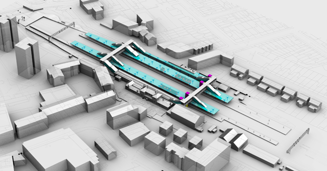 Norwood Junction station CGI